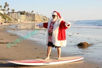 Santa Claus will make an appearance at Laguna Beach's annual Hospitality Night on Dec. 2.